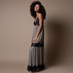 Robe longue Marjolaine  pas cher