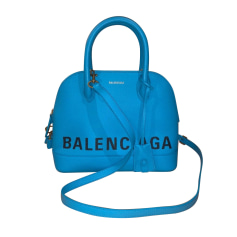 Leather Shoulder Bag Balenciaga Ville