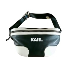 Leather Clutch Karl Lagerfeld