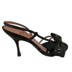 Sandales à talons Moschino  pas cher
