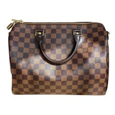 Leather Handbag Louis Vuitton Speedy