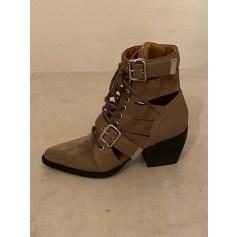 Cowboy Ankle Boots Chloé
