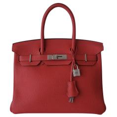 Leather Handbag Hermès Birkin