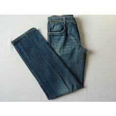 Jeans droit Massimo Dutti  pas cher