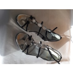 Sandales plates  Heyraud  pas cher