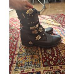 Bottines & low boots motards Aldo  pas cher