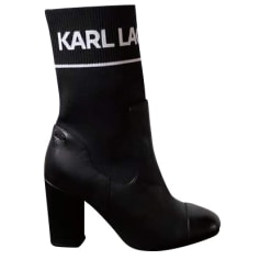High Heel Ankle Boots Karl Lagerfeld