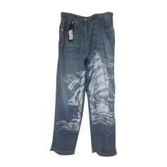 Jeans large, boyfriend Just Cavalli  pas cher