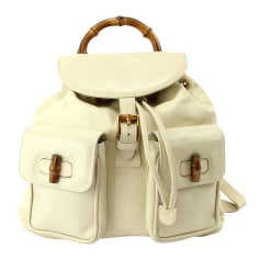 Backpack Gucci Bambou