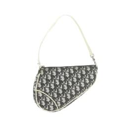Leather Clutch Dior Saddle