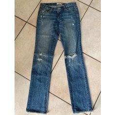 Jeans droit Abercrombie & Fitch  pas cher