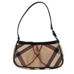 Leather Clutch Burberry