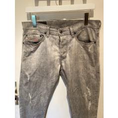 Jeans slim Diesel  pas cher