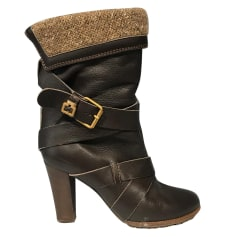 High Heel Ankle Boots Chloé