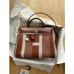 Stoffhandtasche Hermès Herbag
