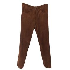 Pantalon droit Giorgio  pas cher