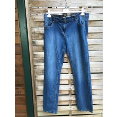 Jeans droit MS Mode  pas cher