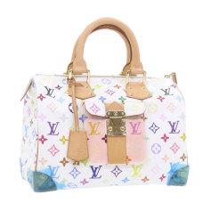 Non-Leather Handbag Louis Vuitton Speedy