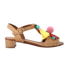 Wedge Sandals Dolce & Gabbana