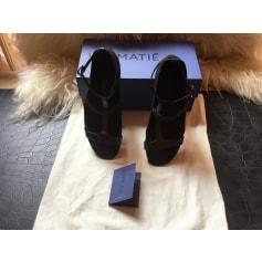 Sandales compensées Vic Matié  pas cher