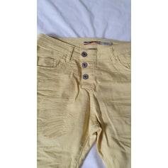 Pantalon droit Please  pas cher