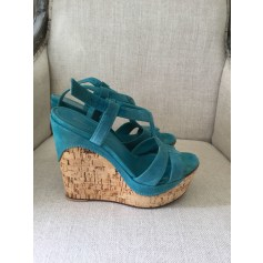 Sandales compensées Gianvito Rossi  pas cher