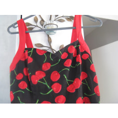 Robe courte hearts and roses  pas cher