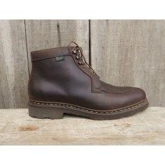Bottines & low boots plates Paraboot  pas cher