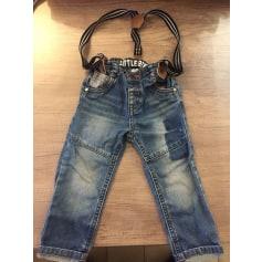Jeans droit Gémo  pas cher