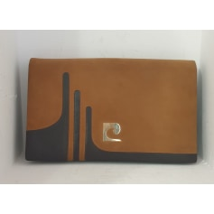 Leather Clutch Pierre Cardin