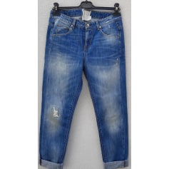 Jeans large, boyfriend Twin-Set Simona Barbieri  pas cher