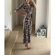 Robe longue Diane Von Furstenberg  pas cher