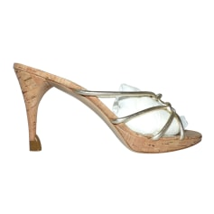 Sandales à talons Céline  pas cher