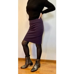 Jupe mi-longue Sarah Pacini  pas cher
