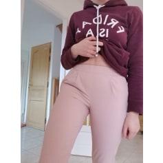Pantalon slim, cigarette Bershka  pas cher