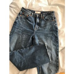 Jeans large, boyfriend Topshop  pas cher