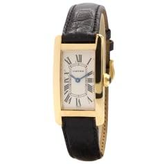 Armbanduhr Cartier Tank Américaine