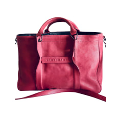 Leather Shoulder Bag Longchamp 3D