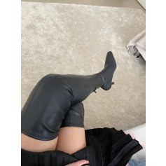 Thigh High Boots Mango
