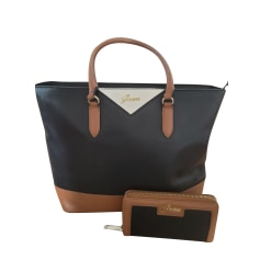 Leather Handbag Guess