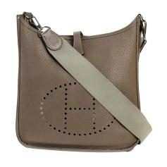 Leather Shoulder Bag Hermès Evelyne