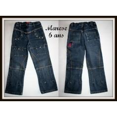 Jeans droit Marèse  pas cher