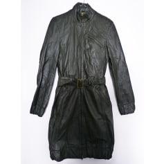 Manteau en cuir Desigual  pas cher