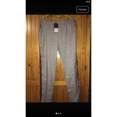 Pantalon droit Defi Mode  pas cher