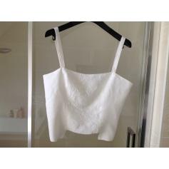Top, tee-shirt Ventilo chemise blanche  pas cher