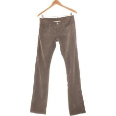 Pantalon droit Berenice  pas cher