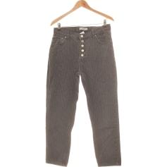 Jeans droit Pull & Bear  pas cher