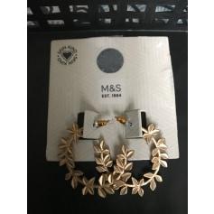 Boucles d'oreille Marks & Spencer  pas cher