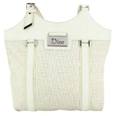 Sac à main en tissu Dior  pas cher