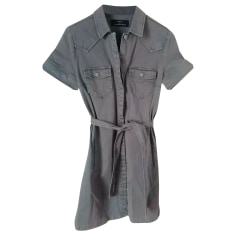Denim Dress Comptoir Des Cotonniers